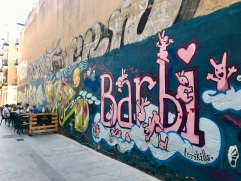 El Carmen street art by Barbi