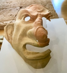 Ancient Roman mask